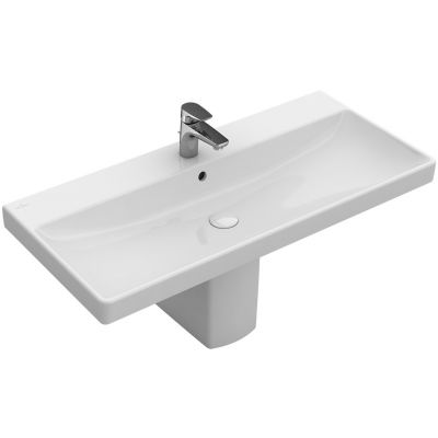 Villeroy & Boch Avento umywalka 80x47 cm prostokątna Weiss Alpin 41568001