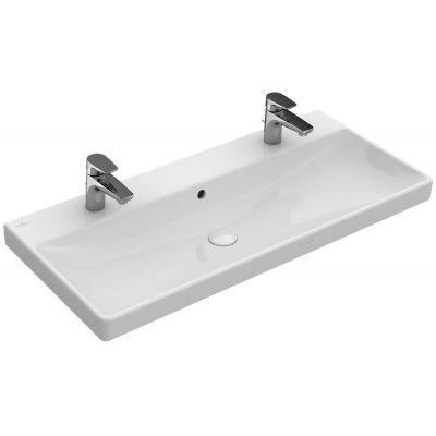 Villeroy & Boch Avento umywalka 100x47 cm prostokątna Weiss Alpin 4156A101