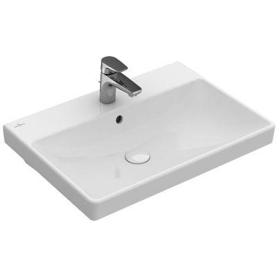 Villeroy & Boch Avento umywalka 60x47 cm prostokątna CeramicPlus Weiss Alpin 415860R1