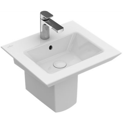 Villeroy & Boch Legato umywalka 50x44 cm ścienna prostokątna Weiss Alpin 43515001