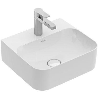 Villeroy & Boch Finion umywalka 43x39 cm ścienna prostokątna CeramicPlus Weiss Alpin 436443R1