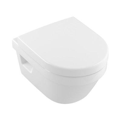 Villeroy & Boch Architectura combi-Pack zestaw miska WC CeramicPlus z deską wolnoopadającą 5684HRR1