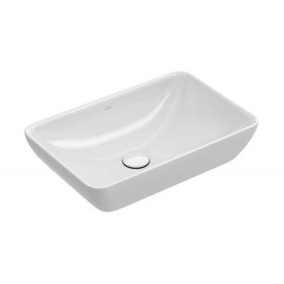 Villeroy & Boch Venticello umywalka 55x36 cm nablatowa biała CeramicPlus 411355R1