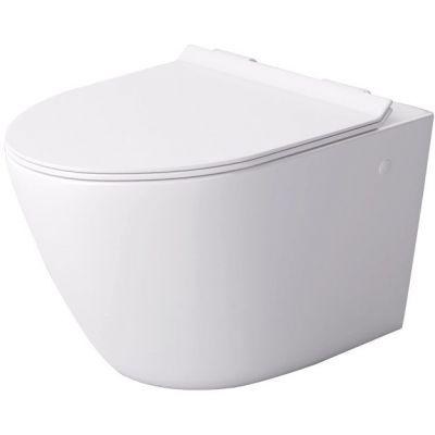 Massi Decos deska sedesowa Slim wolnoopadająca biała MSDS-3673DUSL