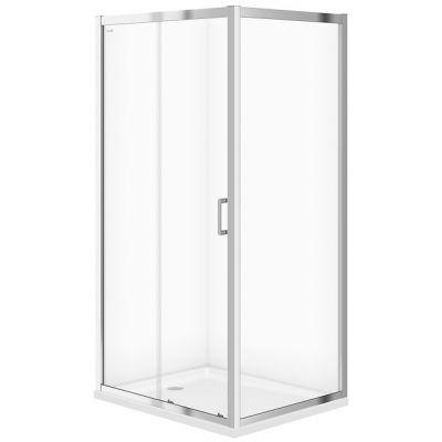 Cersanit Arteco kabina prysznicowa 100x80 cm szkło przezroczyste S157-011