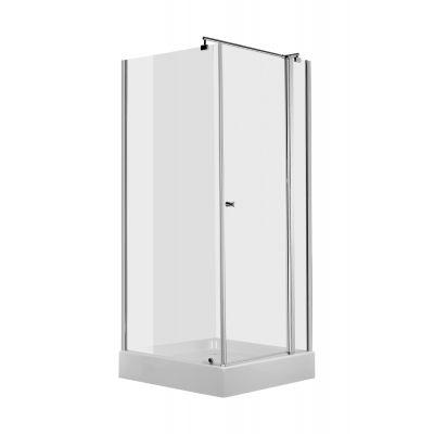 Deante Cubic kabina prysznicowa 90 cm kwadratowa z drzwiami uchylnymi KTI043P