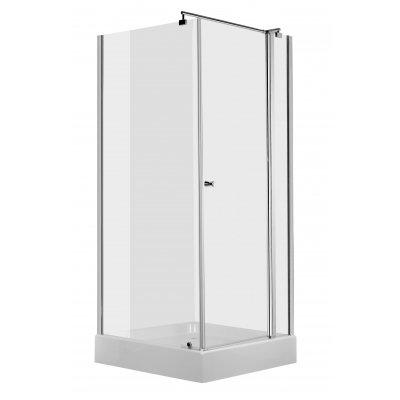 Deante Cubic kabina prysznicowa kwadratowa 80 cm KTI044P