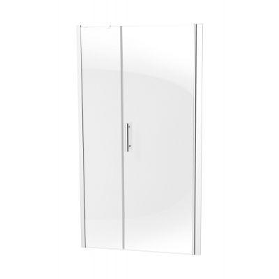 Deante Moon drzwi prysznicowe uchylne 40+70 cm z szerokim wejściem KTM013P