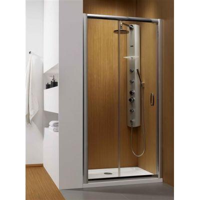 Radaway Premium Plus DWJ drzwi prysznicowe 110 cm szkło przezroczyste 33302-01-01N