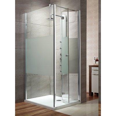 Radaway Eos KDJ-B kabina prysznicowa 90 cm kwadratowa prawa szkło przezroczyste 37403-01-01NR