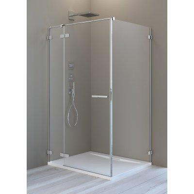 Radaway Arta KDJ II drzwi prysznicowe 80 cm ze ścianką stałą lewe 386420-03-01L/386040-03-01L