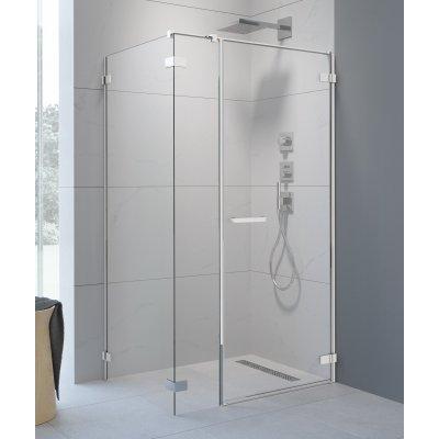 Radaway Arta KDS I drzwi prysznicowe 120 cm ze ścianką stałą prawe 386820-03-01R/386100-03-01R