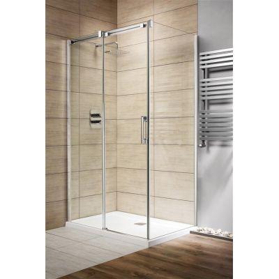 Radaway Espera KDJ drzwi jednoczęściowe 100 cm lewe ze ścianką 380495-01L/380230-01L