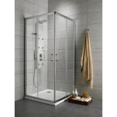 Radaway Premium Plus C kabina kwadratowa drzwi przesuwne 90x90 cm 30453-01-01N