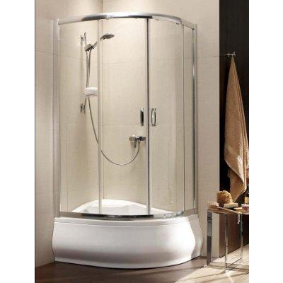 Radaway Premium Plus E 1700 kabina prysznicowa 120x90 cm półokrągła asymetryczna 30483-01-05N