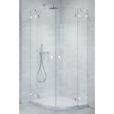 Radaway Essenza Pro PDD kabina prysznicowa 100 cm część prawa chrom/szkło przezroczyste 10095100-01-01R