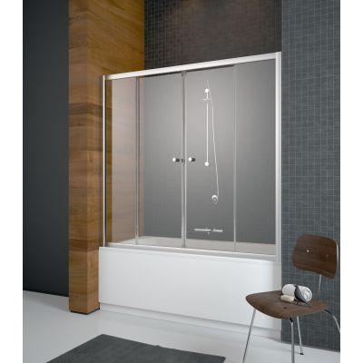 Radaway Vesta DWD parawan nawannowy 140 cm z drzwiami przesuwnymi 203140-06