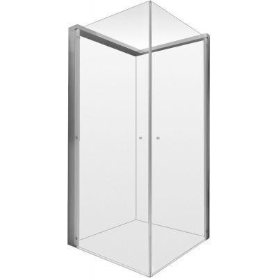 Duravit OpenSpace kabina prysznicowa 80 cm kwadratowa szkło przezroczyste 770001000000000