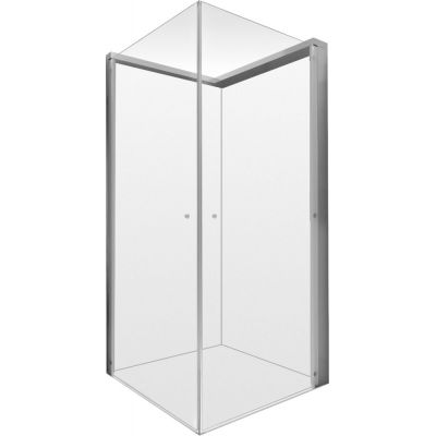 Duravit OpenSpace kabina prysznicowa 80 cm kwadratowa szkło przezroczyste/lustrzane 770001000110000