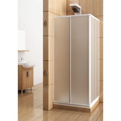 KFA Armatura Variabel kabina prysznicowa 90 cm kwadratowa szyba polistyrenowa 101-26911P