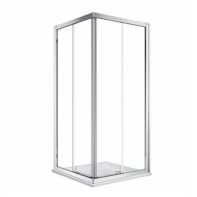 Koło Geo kabina prysznicowa 80 cm kwadratowa szkło przezroczyste 560.112.00.3