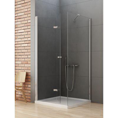 New Trendy New Soleo kabina prysznicowa 100x90 cm prostokątna lewa szkło przezroczyste D-0149A/D-0089B