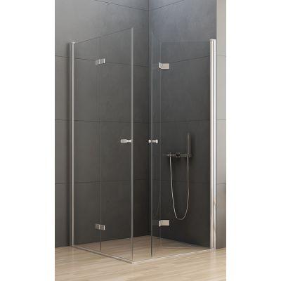 New Trendy New Soleo kabina prysznicowa 100x80 cm prostokątna szkło przezroczyste  D-0150A/D-0152A