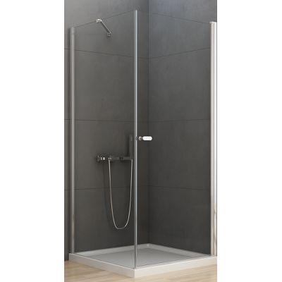 New Trendy New Soleo kabina prysznicowa 90 cm kwadratowa szkło przezroczyste D-0141A/D-0088B-WP