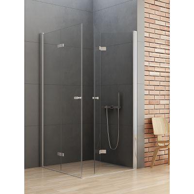 New Trendy New Soleo kabina prysznicowa 100 cm kwadratowa szkło przezroczyste D-0150A/D-0154A