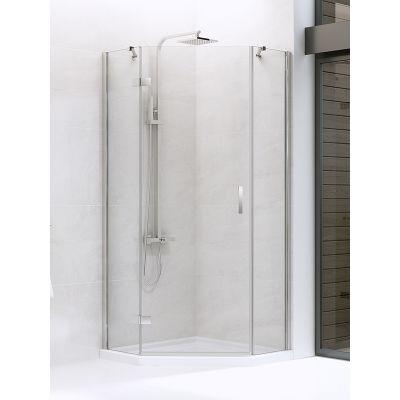 New Trendy New Azura kabina prysznicowa 90x90 cm pięciokątna lewa szkło przezroczyste K-0337