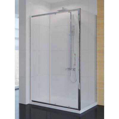 New Trendy New Corrina kabina prysznicowa 100x80 cm prostokątna szkło przezroczyste D-0089A/D-0078B