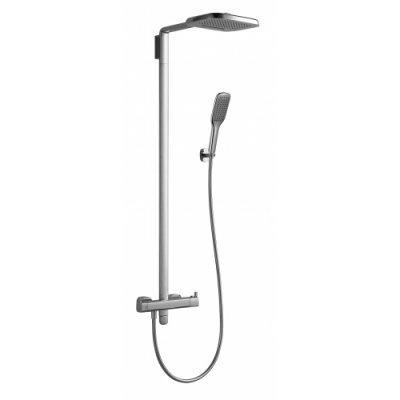 Omnires Hudson system prysznicowy natynkowy termostatyczny, 3-funkcyjny HS4144/6