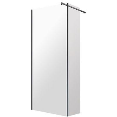 Omnires Marina kabina prysznicowa 100x30 cm typu Walk-In szkło przezroczyste MA1030BLTR