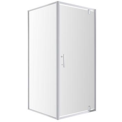 Omnires S80 kabina prysznicowa 80 cm kwadratowa szkło przezroczyste S S-80KCRTR