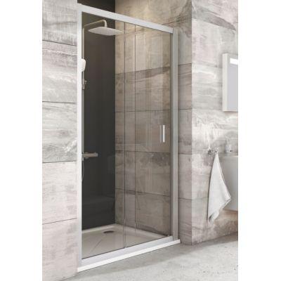 Ravak Blix BLDP2-110 drzwi prysznicowe 110 cm przesuwne biel/transparent 0PVD0100Z1