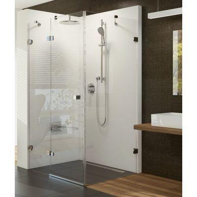 Ravak Brillant BSDPS-100/100 P kabina prysznicowa 100 cm kwadratowa prawa szkło transparentne 0UPA0A00Z1