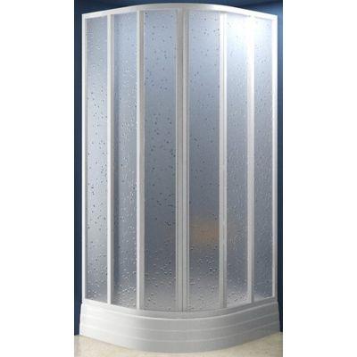 Ravak Supernova SKKP6-90 kabina prysznicowa 90 cm półokrągła biel/transparent 32070100Z1