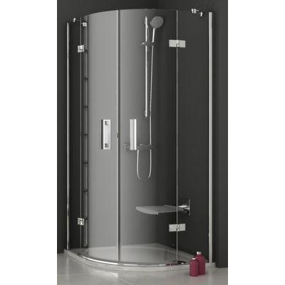 Ravak SmartLine SMSKK4-90 kabina prysznicowa 90 cm półokrągła czteroczęściowa chrom/transparent 3S277A00Y1