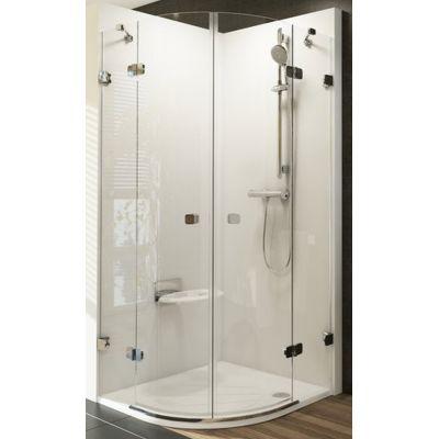 Ravak Brillant BSKK4-90 kabina prysznicowa 90 cm półokrągła szkło transparentne 3U277A00Y1