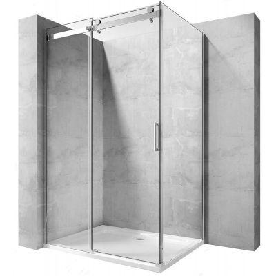 Rea Whistler kabina prysznicowa 100x80 cm prostokątna szkło przezroczyste REA-K0847