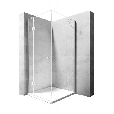 Rea Madox kabina prysznicowa 100x80 cm prostokątna szkło przezroczyste REA-K4512