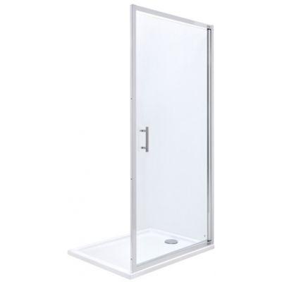 Roca Town drzwi prysznicowe 90 cm szkło przezroczyste AMP170901M
