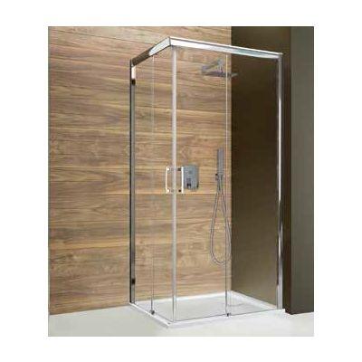 Sanplast Free Zone KN/FREEZONE kabina prysznicowa 100 cm kwadratowa szkło przezroczyste 600-271-3520-38-401