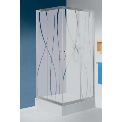 Sanplast TX kabina prysznicowa narożna kwadratowa 80x80 cm KN/TX5b-80 600-271-0220-39-231