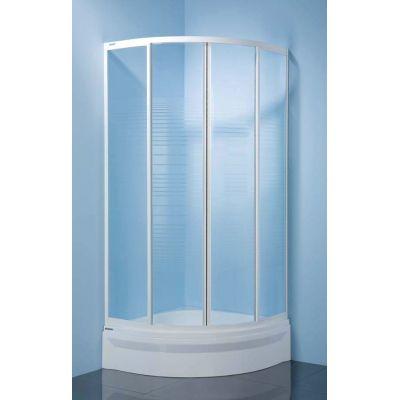 Sanplast Classic kabina prysznicowa 80 cm półokrągła KP-c-80 600-013-0622-01-520