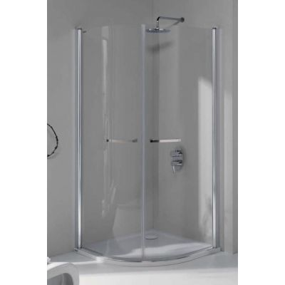 Sanplast Prestige III kabina prysznicowa półokrągła 90 x 90 cm KP2/PRIII-90 600-073-0530-01-401