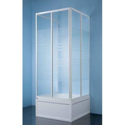 Sanplast Classic KT/Dr-c kabina prysznicowa 70x70 przyścienna 600-013-0810-01-520