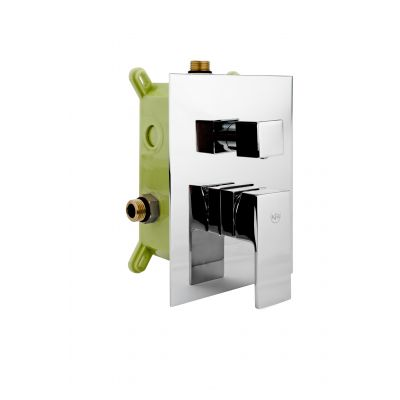 Kfa Hexa bateria wannowo-prysznicowa podtynkowa Quadro 35 chrom 3529-411-00