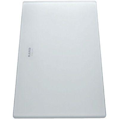 Blanco deska kuchenna szkło białe satynowe 225335