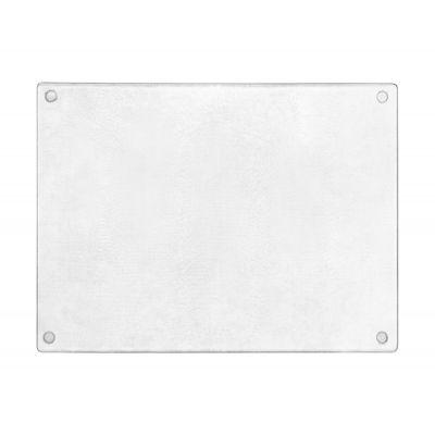 Deante deska kuchenna szklana biała ZZD000N